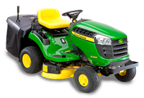 Follow link to the X135R Tractor, 36 Inch Rear Collection Mower product page.