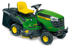 Follow link to the X155R Tractor, 42 Inch Rear Collection Mower product page.