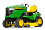 Follow link to the X354 Tractor, less deck, California Model product page.