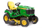 Follow link to the X710 Signature Series Tractor, Less Mower Deck product page.