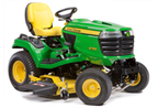 Follow link to the X750 Signature Series Tractor, Less Mower Deck product page.