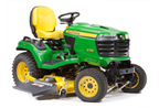 Follow link to the X758 Signature Series 4-Wheel Drive Tractor, Less Mower Deck product page.