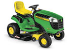 Follow link to the D125 Ride-On Mower product page.