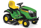 Follow link to the D155 Lawn Tractor product page.