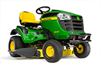 Follow link to the S240 Sport Lawn Tractor product page.