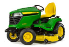 Follow link to the X590 Multi-Terrain Tractor, 54-inch deck product page.