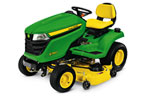 Follow link to the X380 Tractor, 48-inch deck product page.