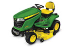Follow link to the X390 Tractor, 48-inch deck product page.