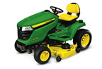 Follow link to the X394 Tractor, 48-inch deck product page.