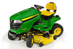 Follow link to the X384 Tractor, 48-inch deck product page.
