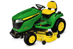 Follow link to the X580 Multi-Terrain Tractor, 54-inch deck product page.