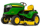 Follow link to the X570 Multi-Terrain Tractor, 48-inch deck product page.