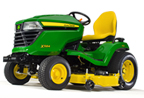 Follow link to the X584 Multi-Terrain Tractor, less deck product page.