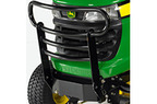 Follow link to the Front Brush Guard fits X300 & X500 Ride-on Mowers product page.