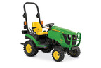 Follow link to the 1025R Sub-Compact Utility Tractor product page.