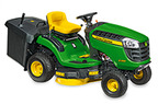 Follow link to the X115R Tractor, 36-Inch Rear Collection Mower product page.