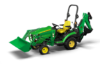 Follow link to the 1025R Tractor Loader Backhoe (TLB) Sub-Compact Utility Tractor product page.