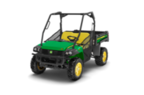 Follow link to the Gator™ XUV825i (Green & Yellow) Utility Vehicle, Power Steering (MY17) product page.