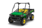 Follow link to the Gator™ XUV855D (Green & Yellow) Utility Vehicle, Power Steering (MY17) product page.