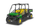 Follow link to the Gator™ XUV855D S4 (Green & Yellow) Utility Vehicle (MY17) product page.