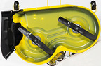 Follow link to the 42-inch Accel Deep Mower Deck product page.