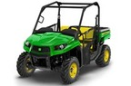 Follow link to the Gator™ XUV590i (Green & Yellow) Utility Vehicle (MY17) product page.