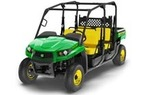 Follow link to the Gator™ XUV590i S4 (Green & Yellow) Utility Vehicle, Power Steering (MY17) product page.