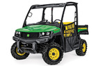Follow link to the Gator™ XUV835E (Green & Yellow) Utility Vehicle (Pre-Order Only) product page.