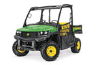 Follow link to the Gator™ XUV835M Utility Vehicle; Open Station with Black Roof (Pre-Order Only) product page.