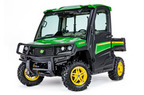 Follow link to the Gator™ XUV835R (Green & Yellow) Utility Vehicle; Cab + HVAC; Utility & Protection Package (Pre-Order Only) product page.