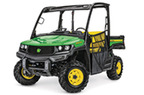 Follow link to the Gator™ XUV865E (Green & Yellow) Utility Vehicle (Pre-Order Only) product page.