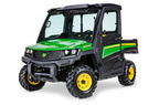 Follow link to the Gator™ XUV865M (Green & Yellow) Utility Vehicle; Cab (Pre-Order Only) product page.