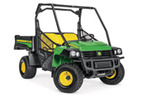 Follow link to the Gator™ HPX615E Work Series Utility Vehicle product page.