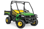 Follow link to the Gator™ HPX815E Work Series Utility Vehicle product page.