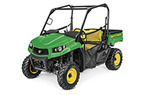 Follow link to the Gator™ XUV590M (Green & Yellow) Utility Vehicle (MY18) product page.