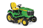 X734 Signature Series 4-Wheel Steer Tractor, Less Mower Deck