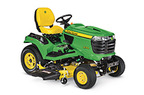 X754 Signature Series 4-Wheel Steer Tractor, Less Mower Deck