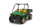 Follow link to the Gator™ XUV625i (Green & Yellow) Utility Vehicle (MY16) product page.