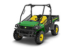 Follow link to the Gator™ XUV825i (Green & Yellow) Utility Vehicle (MY16) product page.