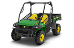 Gator XUV 855D (Green & Yellow) Utility Vehicle, Power Steering