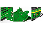 Follow link to the EZtrak Mower - Rear Bumper, Hitch & Foot Extensions product page.