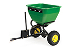 Follow link to the 3.5-cu ft (0.10 cu-m) Broadcast Spreader fits most Ride-on and EZTrak Mowers product page.