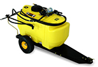 Follow link to the 25-Gallon Tow-Behind Sprayer product page.